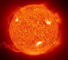 güneş patlama